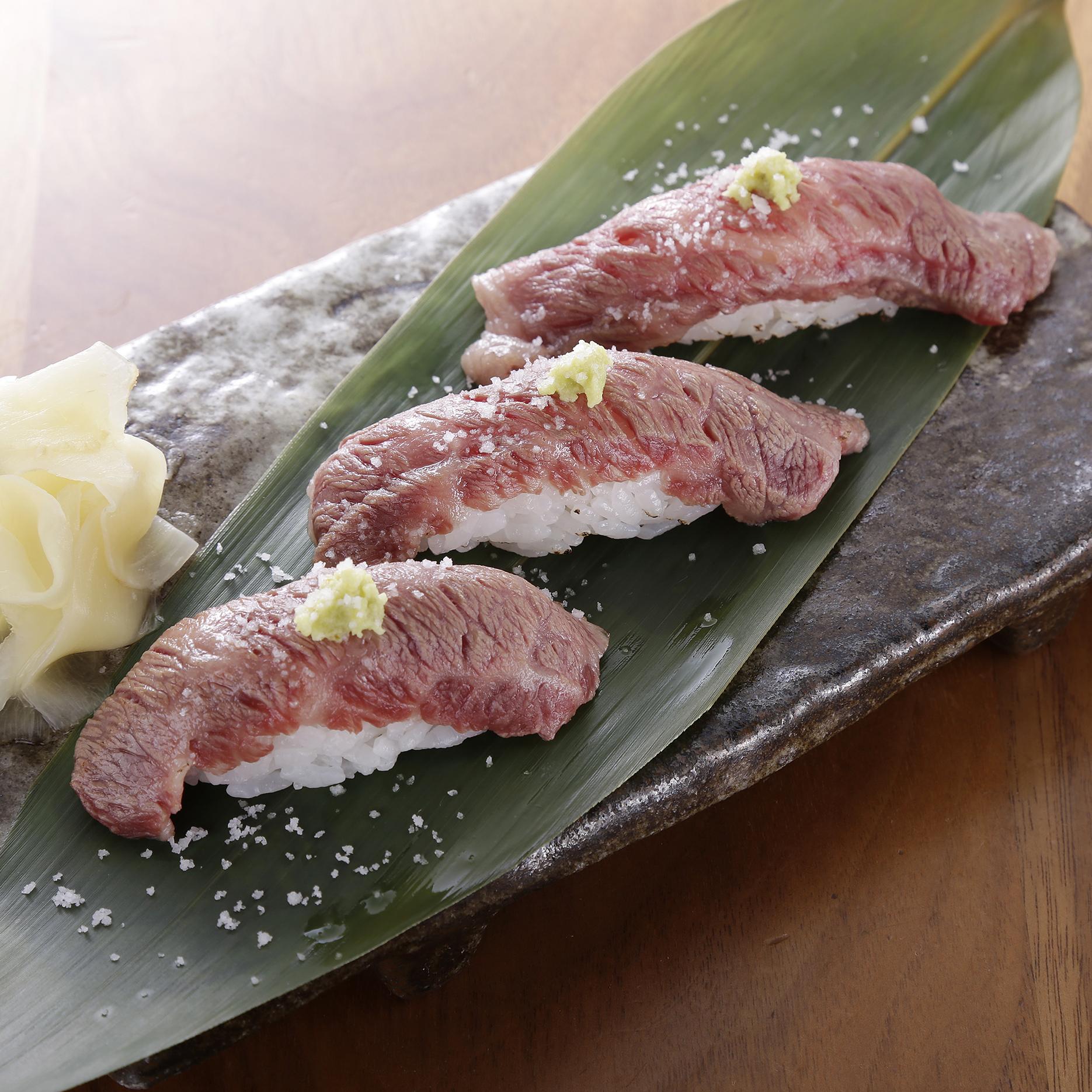 おきなわ和牛炙り寿司